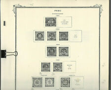 SCOTT SPECIALTY Pages for PERU...1857-1960...50 Pages