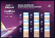 ISRAEL 2019 STAMPS EUROVISION SONG TEL AVIV SOUVENIR SHEET MUSIC
