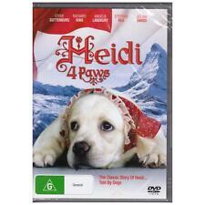 DVD HEIDI 4 PAWS Guttenburg Lansbury 2009 Dog Family Remake Classic Book R4[BNS]