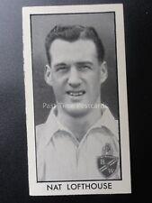 No.31 NAT LOFTHOUSE - Football Stars by D.C. Thomson & Co 1957
