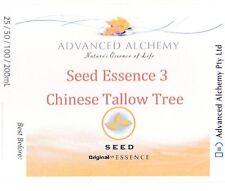 Seed Essence #3 Awakening Creativity - Advanced Alchemy 25ml C. Tallow Tree