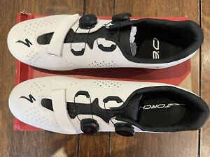 Specialized Torch 3.0 Road Cycling Shoes. White. Size 10.5 UK, 45 EU