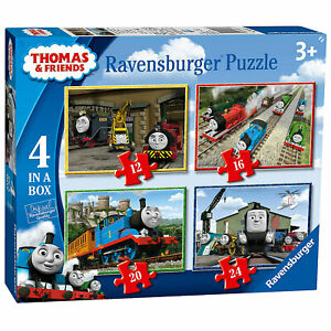 Ravensburger Puzzle: Thomas and Friends 4 in a Box (06937) BRAND NEW