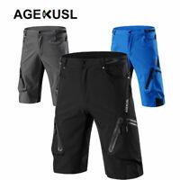 Baggy Cycling Shorts Bike Off Road Downhill MTB Hi-Density Casual Short Pants