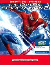 AMAZING SPIDERMAN 2 DVD BLU-RAY UV NEW RARE MANGO COLLECTIBLE CASE