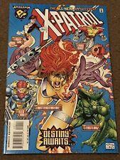 EXCITING X-PATROL # 1 NM- AMALGAM NEWSSTAND MARVEL DC COMICS 1997