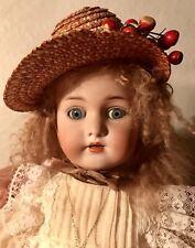 Antique French Trade Rare Simon Halbig Doll on original French Body