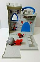 2003 Peppa Pig Little Places Take Along Playset Set Castle Fort