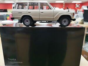 Kyosho Toyota Land Cruise White 1.18