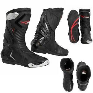 Stiefel Genehmigt Ce Motorrad Quad Moto-Cross Touring Sport Schwarz
