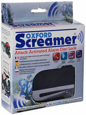 Oxford Screamer Attack Activated Alarm Disc Lock - OF229