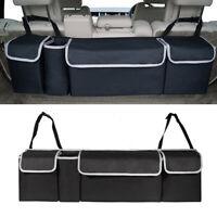 Capacity Oxford Car Seat Back Organizer For Interior Accessories 90x25x12cm mlpg