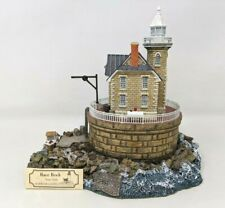 2002 Harbour Lights Race Rock New York Ny #272 Lighthouse Figurine Fw20