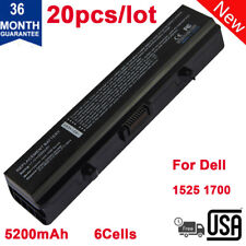 20x For Dell Inspiron 1525 1526 1545 451-10478 XR693 D608H 5200mAh M911G Battery