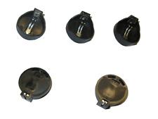 5 x Batteriehalter Knopfzelle CR2032 1,5V Platine Printmontage Lötanschluß