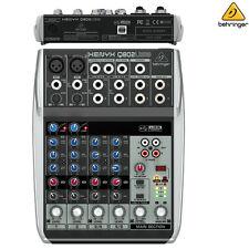 Behringer Xenyx Q802USB Premium 8-Input 2-Bus Mixer NEW l Authorized Dealer