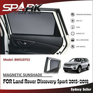 AD MAGNETIC CAR WINDOW SUN SHADE BLIND FOR LAND ROVER DISCOVERY SPORT 2015-2018
