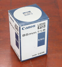 CANON BOX ONLY FOR 85/1.8 CANON FD SSC/167234