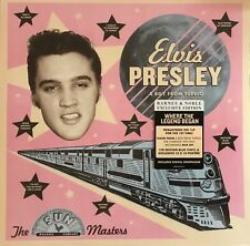 ELVIS PRESLEY - A BOY FROM TUPELO - EXCLUSIVE BLUE COLORED LP & 12 x 12 POSTER