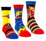 3 PAAR Kinder Socken Strümpfe Jungen bunt Söckchen Feuerwehr Sneaker  27-34 #K50