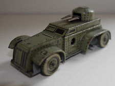 CKO KELLERMAN 338 PRE-WAR TANK GERMANY RARE SPARKING 1930's TINPLATE- ANTIQUE