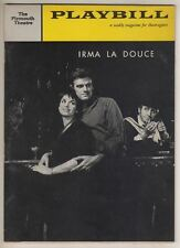 """Irma La Douce""   Playbill  1960   Broadway  Elizabeth Seal,  Keith Michell"
