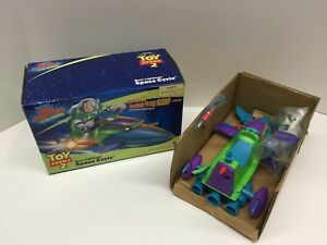 Toy Story 2 Vintage 2000 Buzz Lightyear Space Cycle w/Buzz Action Figure NEW MIB