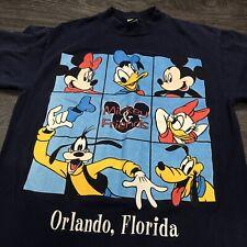 Vintage Mickey Mouse DisneyT-Shirt Men's M Goofy Donald Duck Orlando FL
