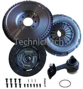 FORD TRANSIT 2.0 TURBO DIESEL 125 SOLID FLYWHEEL, CLUTCH, CSC BEARING AND BOLTS