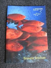 London Aquarium Souvenir Brochure 2002