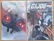 IDW G.I Joe Snake Eyes #1 Deadgame +Complete Silence Exclusive Comics Liefeld NM