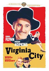 VIRGINIA CITY (Erroll Flynn)- DVD - Region Free - Sealed
