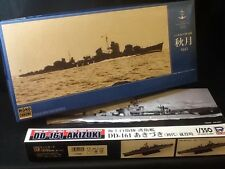 IJN Destroyer AKIZUKI 1942 1/350 &  JMSDF Destroyer AKIZUKI DD-161