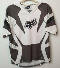 Fox Motocross Men's Grey/White T-Shirt Size M