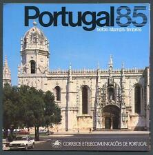 Portugal Offical Post Office 1985 year folder (2016/04/09 #7)