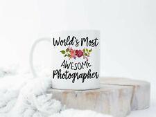 World's Best Photographer Mug Photography Mug Photographer Gift Editing Day Mug