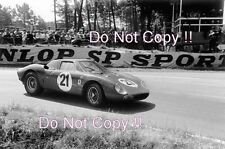 Jochen Rindt & Masten Gregory Ferrari 250 LM  Le Mans Winners 1965 Photograph 2