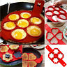 Nonstick Pancake Maker Mould Silicone Omelette Egg Ring Maker Kitchen Mold Tools