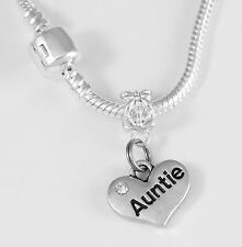 Auntie Necklace  Auntie best Jewelry gift  Auntie Jewelry