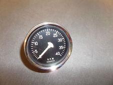 vintage stewart warner mechanical tachometer nos unused 4000 rpm