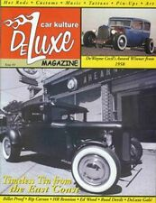 """CAR KULTURE DELUXE MAGAZINE - Issue # 3 """"NEW!"""" (March 2002) No Longer Available!"""