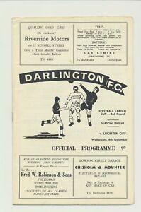1960's lot of 12 programs Birmingham Rotherham Darlington Derby County & more