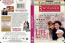 Life Is Beautiful Dvd Roerto Benigni Giorgio Nicoletta Giustino Durano