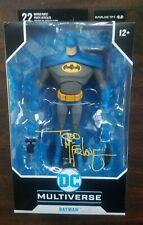 Todd Mcfarlane Signed DC Multiverse Animated Batman Blue Variant