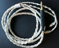 ALO Audio SXC 8 Silver Plated Copper MMCX IEM 4.4mm Balanced Cable $350 Value