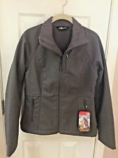 NWT THE NORTH FACE APEX BIONIC 2 JACKET ACTIVE FIT RABBIT GRAY HEATHER WOMENS PS