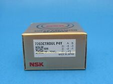NSK 7203CTRDULP4Y Abec-7 Super Precision Spindle Bearings. ( Set of Two )