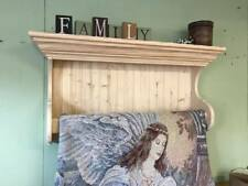 Wall Hanging Quilt Rack Blanket Display Shelf with Crown Molding Fancy Quilt Rod