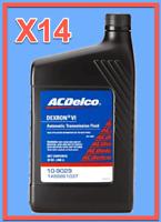 14 Quarts GMC OEM Automatic Transmission Fluid (ATF) AcDelco Dextron VI