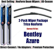2pk Super-Premium NeoForm Wipers fit 2001-2002 Bentley Azure - 16220x2